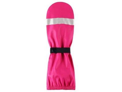 Kvalitní dětské zimní nepromokavé rukavice palčáky Reima Kura v růžové barvě