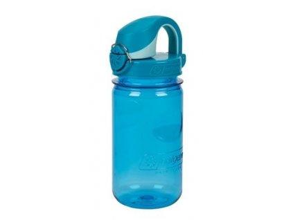 Kvalitní dětská plastová láhev bez BPA Nalgene OTF - modrá 350 ml v modré barvě