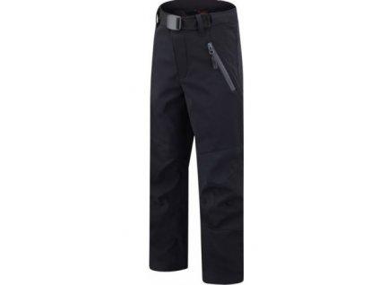 Kvalitní dětské funkční softshellové kalhoty pro volný čas HANNAH MARTY JR KIDS v šedé barvě