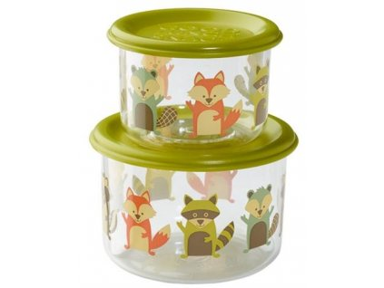 Sugarbooger Good Lunch snack containers  - What did the Fox Eat