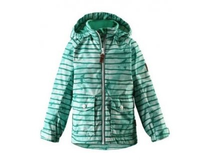Chlapecká nepromokavá bunda Reima Knot - green