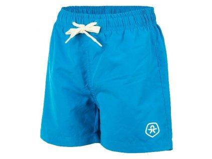 Kvalitní chlapecké rychleschnoucí šortkové plavky s UV ochranou Bungo Color Kids - Diva blue