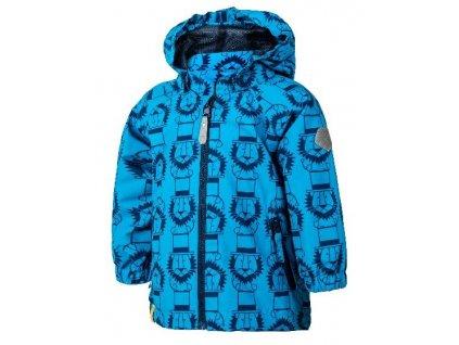 Softshelová bunda Color Kids Veast mini - Diva blue