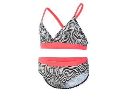 Kvalitní dětské dívčí dvoudílné rychleschnoucí plavky s UV ochranou Color Kids Bikini Toril - Kit