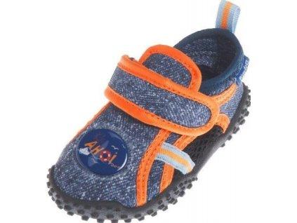Boty do vody Playshoes džínové
