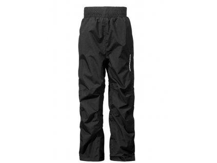 Kvalitní dětské funkční kalhoty pro volný čas Didriksons Nobi 2017 v černé barvě
