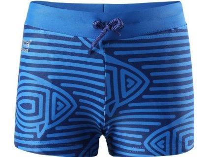 Kvalitní dětské plavky s UV ochranou Reima Tonga blue v modré barvě