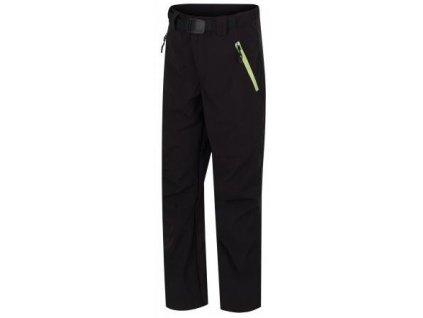 Kvalitní dětské funkční kalhoty pro volný čas HANNAH MARTY JR KIDS v zelené barvě