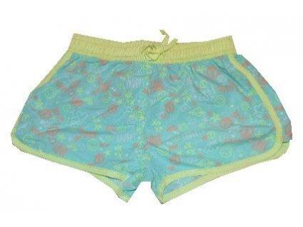 Kvalitní dívčí rychleschnoucí šortkové plavky s UV ochranou Losan aqua