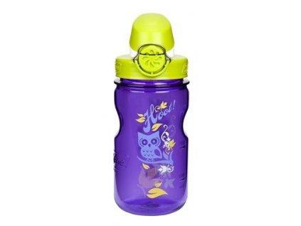 Nalgene dětská láhev OTF - fialová sova 350 ml