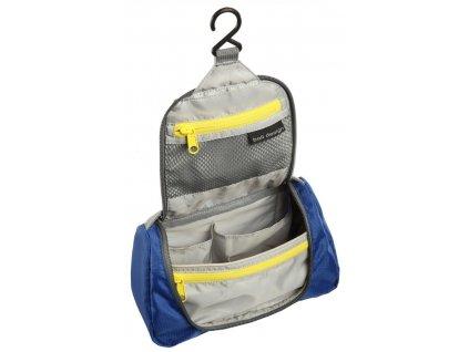 Kvalitní lehká dětská závěsná toaletní taštička Kids Washbag Boll violet ve fialové barvě