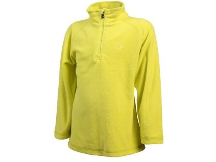 Color Kids Sandberg fleece pulli Neon yellow