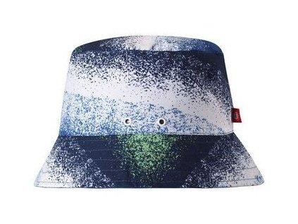 Dětský oboustranný UV klobouček Reima Viehe - Blue