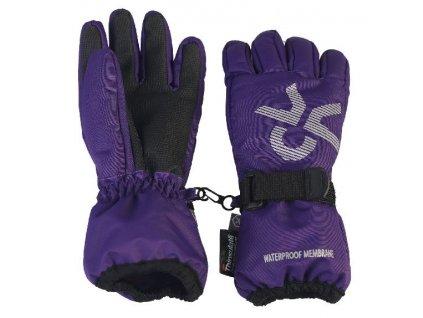 Dětské rukavice Color Kids Savoy Violet indigo