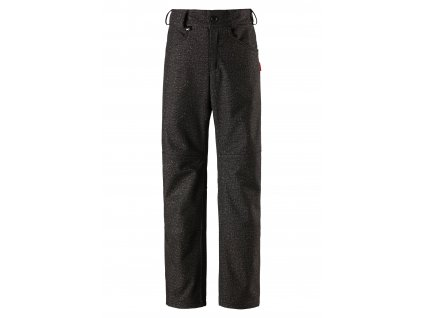 Dětské softshellové kalhoty Reima Mighty dark grey