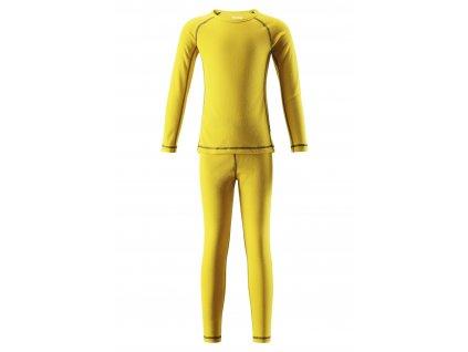 Dětské funkční prádlo Reima Lani yellow