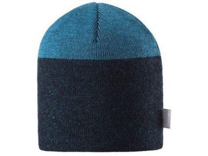Kvalitní dětská vlněná zimní čepice Reima Vaahtera v modré barvě