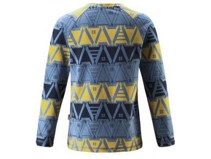 Dětské tričko s dlouhým rukávem Reima Tiptoe Soft blue