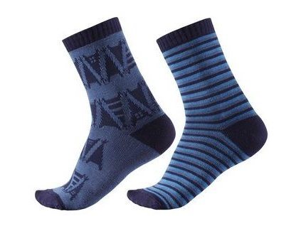 Kvalitní dětské vlněné zimní ponožky Reima Sturm ve světle modré barvě de50d9a691