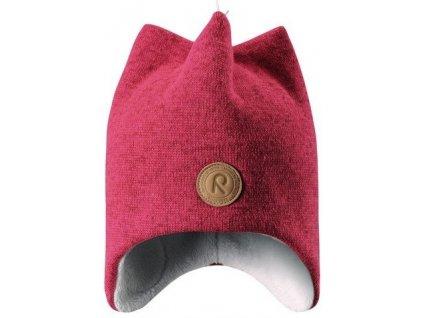 Dětská zimní čepice Reima Kaarne berry