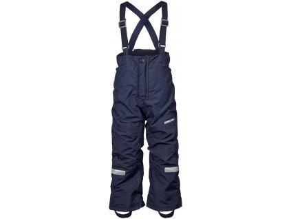 Kvalitní dětské zimní lyžařské kalhoty D1913 IDRE v modré barvě