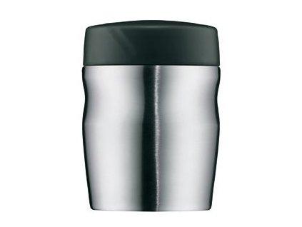 Kvalitní termonádoba na jídlo z nerezové oceli vhodná pro děti Alfi STEEL 0,35l ve stříbrné barvě
