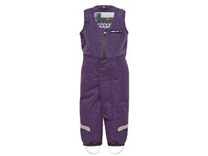 Kvalitní dětské zimní lyžařské kalhoty LEGO® Wear Parkin ve fialové barvě