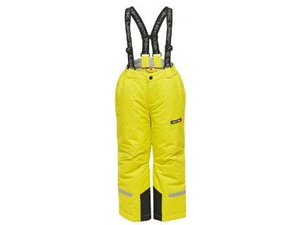 Kvalitní dětské zimní lyžařské kalhoty LEGO® Wear Pilou ve žluté barvě