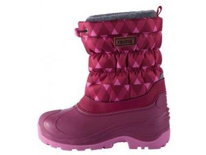 Dětské zimní boty Reima Ivalo Dark berry