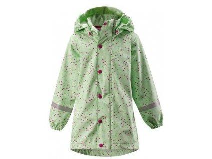 Dětský kabát do deště Reima Vatten - Pastel green