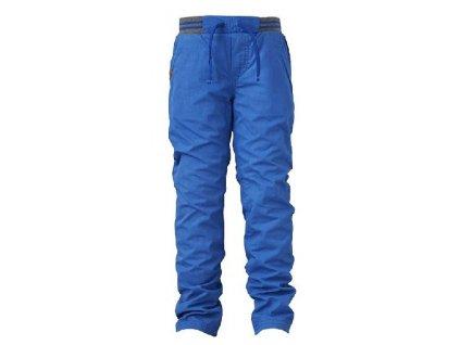 Dětské kalhoty s podšívkou LEGO® Build sv. modré