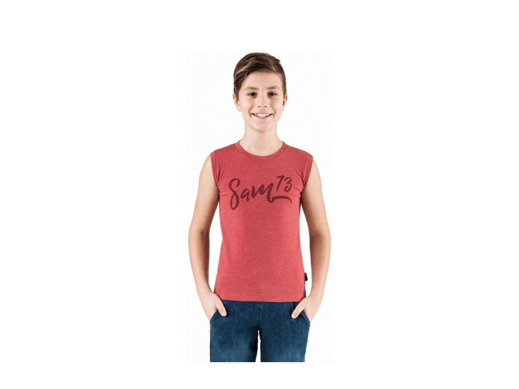 SAM 73 Chlapecké triko s krátkým rukávem