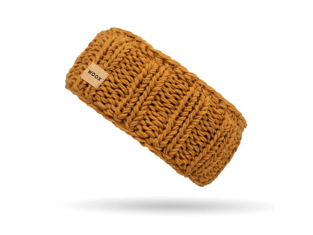 Merino čelenka Meri Gold Headband