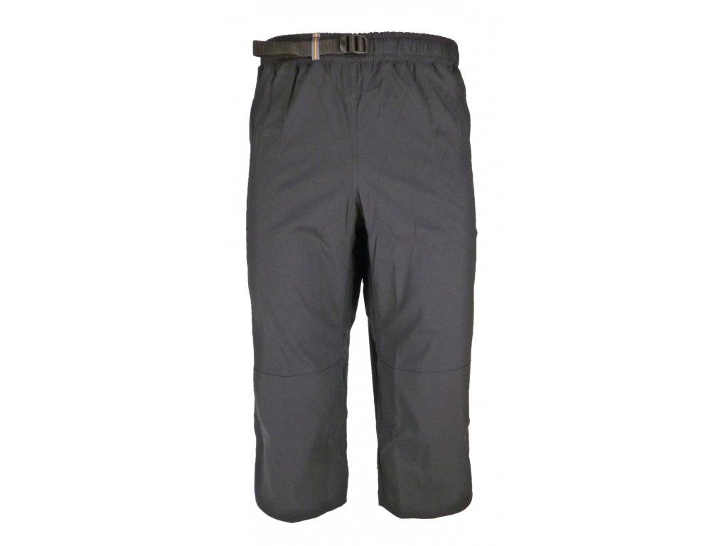 3/4 strečové kalhoty Rejoice - Moth 3/4 (černé) (Velikost XXXL)
