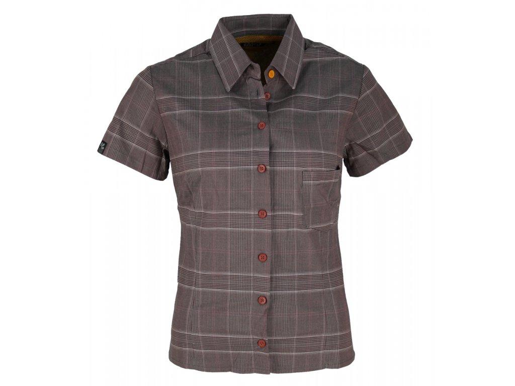 Dámská košile Rejoice - Erica (fialovo-šedá) (Velikost XS)