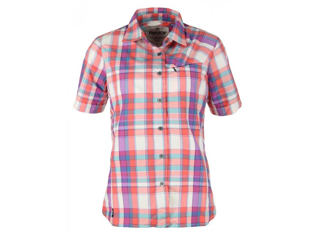 Dámská košile Rejoice - Ginkgo (červená) (Velikost XS)