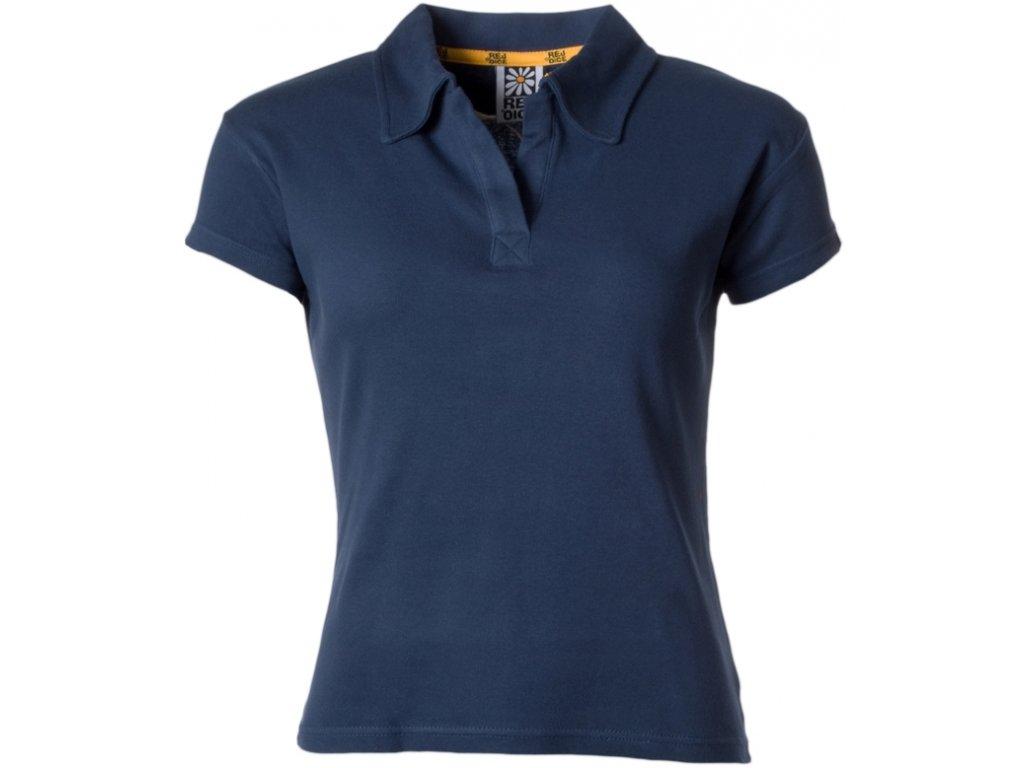 Dámské bavlněné tričko Rejoice - Endive (modré) (Velikost XS)