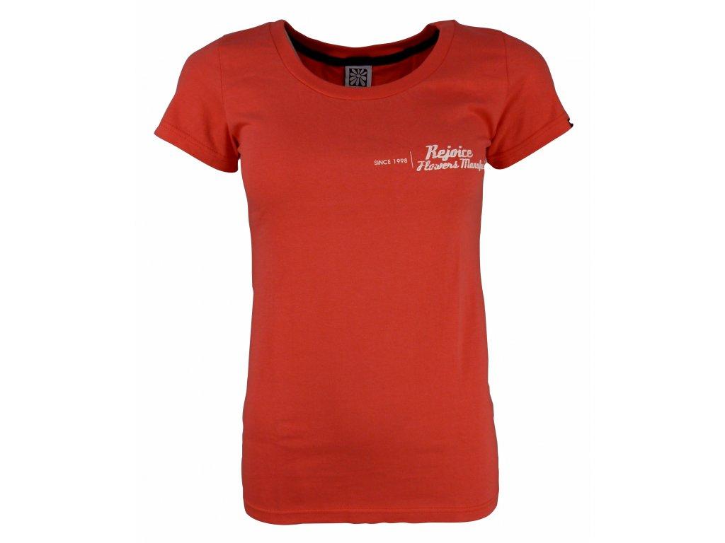 Dámské bavlněné tričko Rejoice - Gentiana Women (růžové) (Velikost XS)