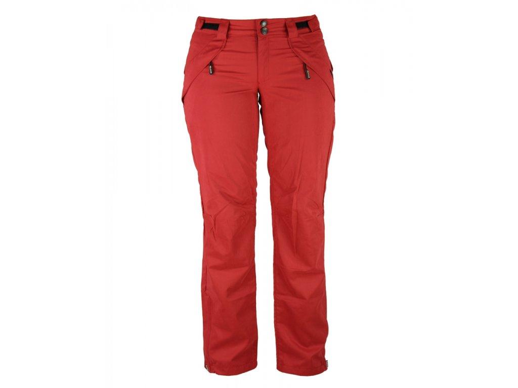 Dámské kalhoty Rejoice -  Medicago (červené) (Velikost XS)