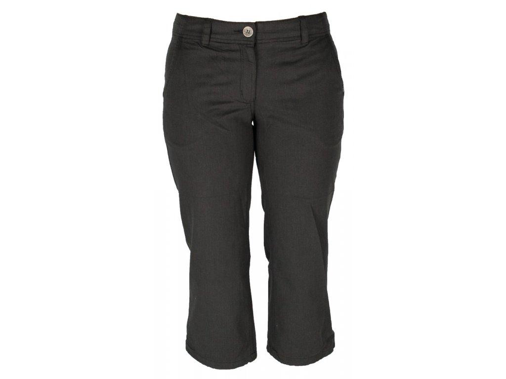 Dámské kalhoty Rejoice - Brassica 3/4 (černé) (Velikost XXL)