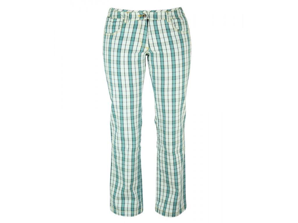 Dámské kalhoty Rejoice - Swida (tyrkysové) (Velikost XS)