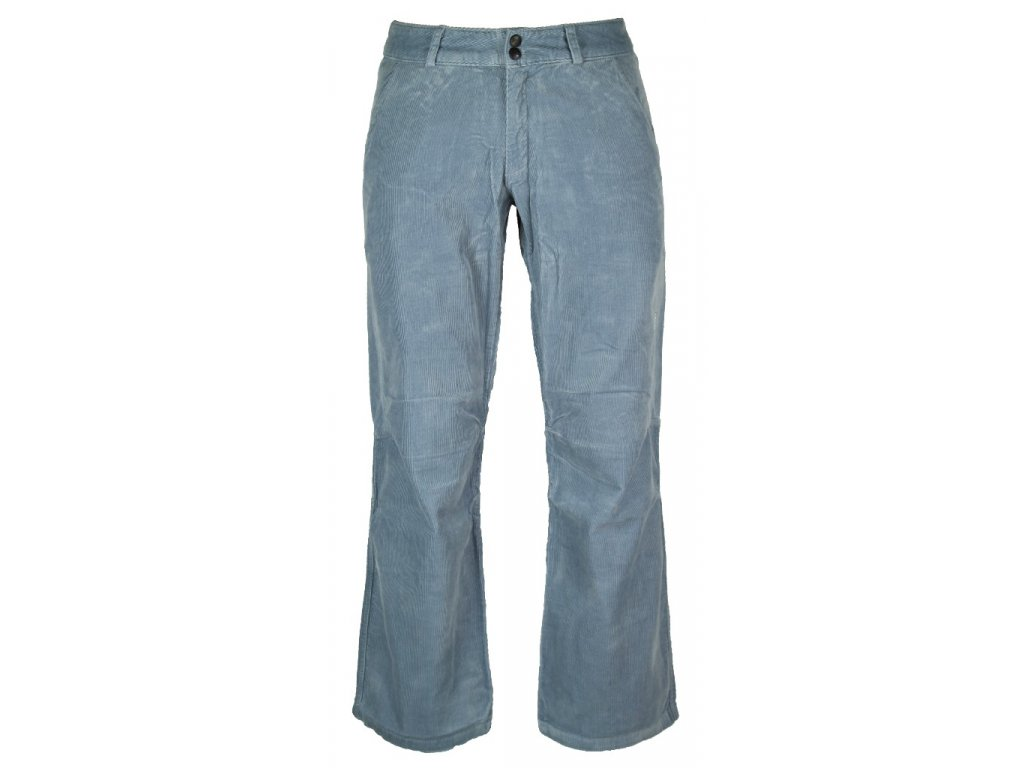 Dámské manšestrové kalhoty Rejoice -  (modré) (Velikost XL)