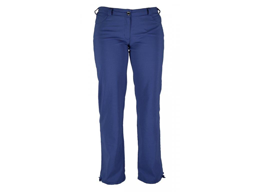 Dámské strečové kalhoty Rejoice - Knautia (modré) (Velikost XS)