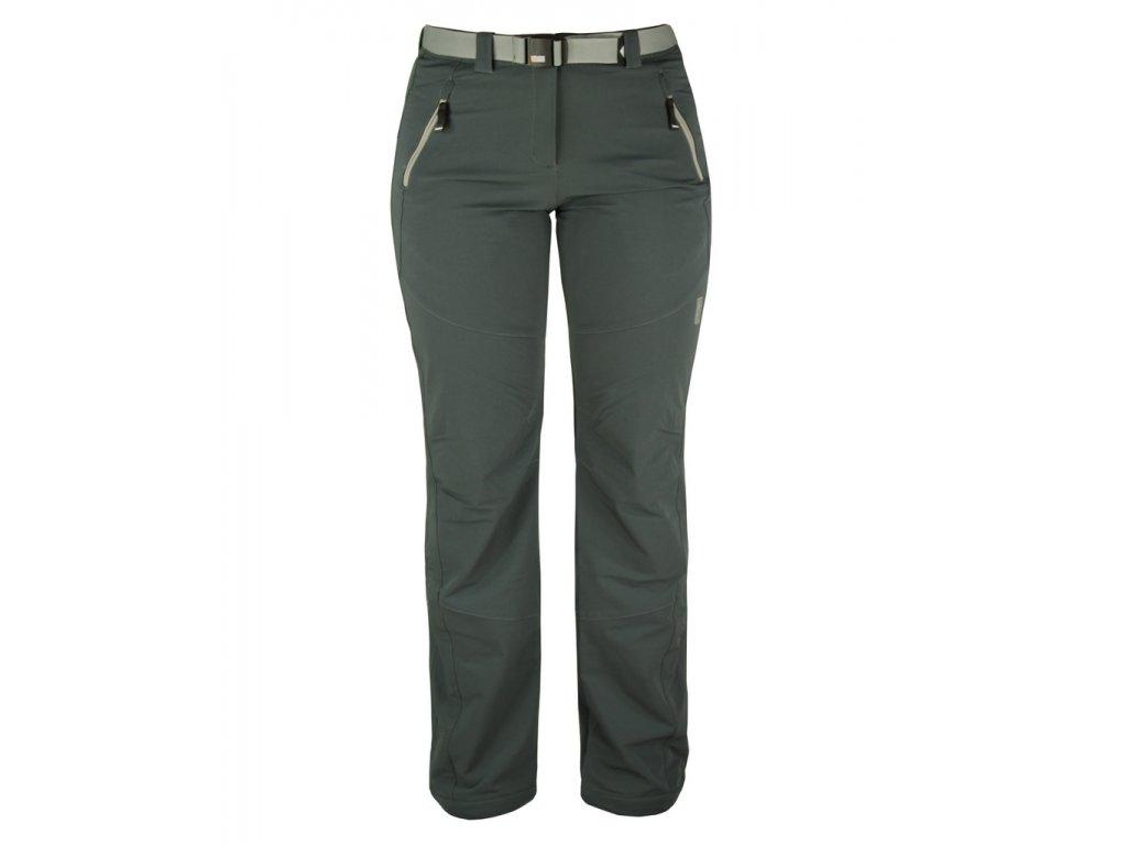 Dámské strečové kalhoty Rejoice - Plum (šedé) (Velikost XS)