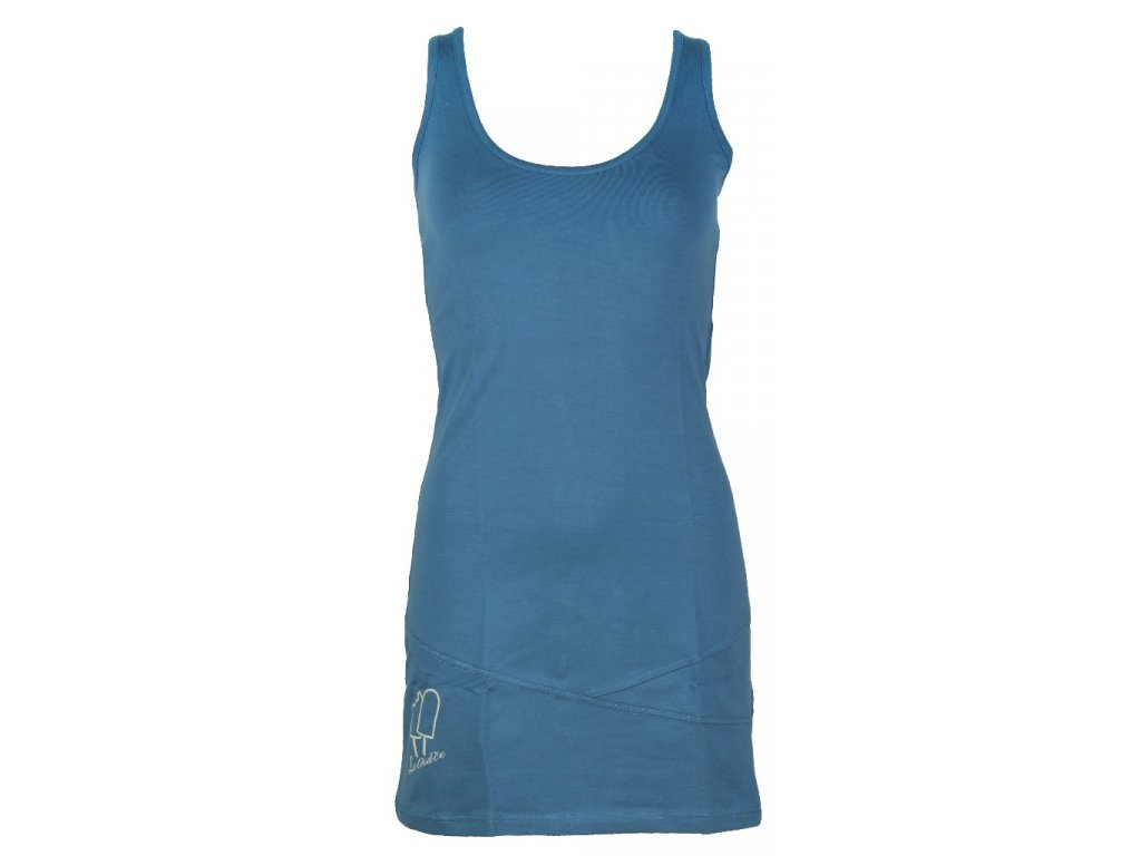 Elastické šaty Rejoice - Holly Tree (modré) (Velikost S)