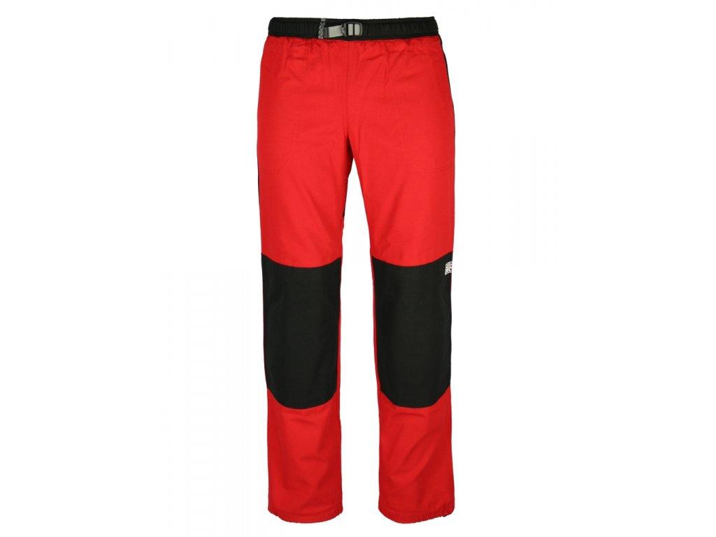 Kalhoty Rejoice - Fat Moth (červeno-černé) (Velikost XS)