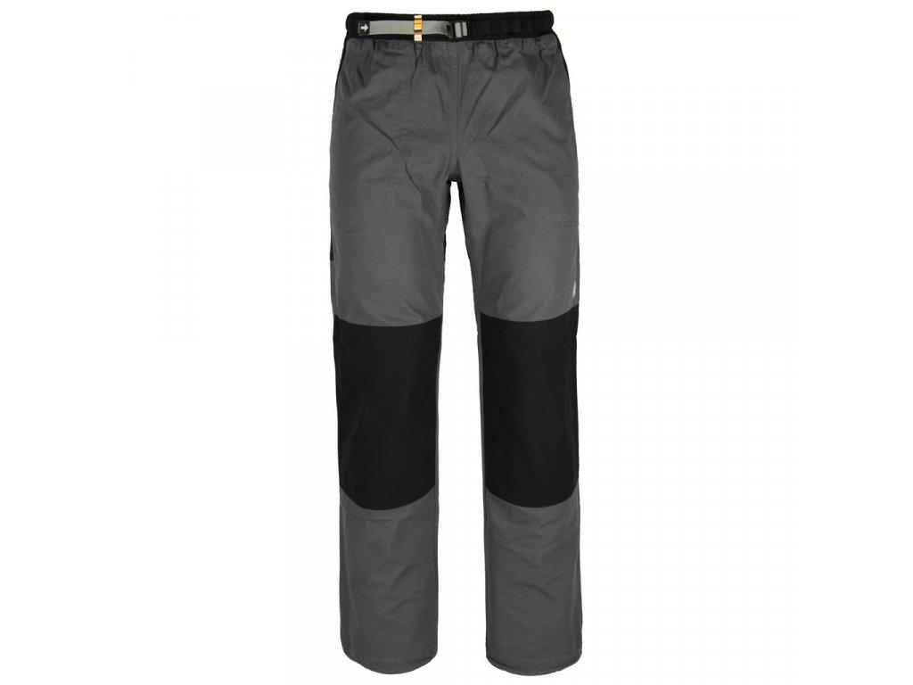 Kalhoty Rejoice - Fat Moth (šedo-černé) (Velikost XXXL)