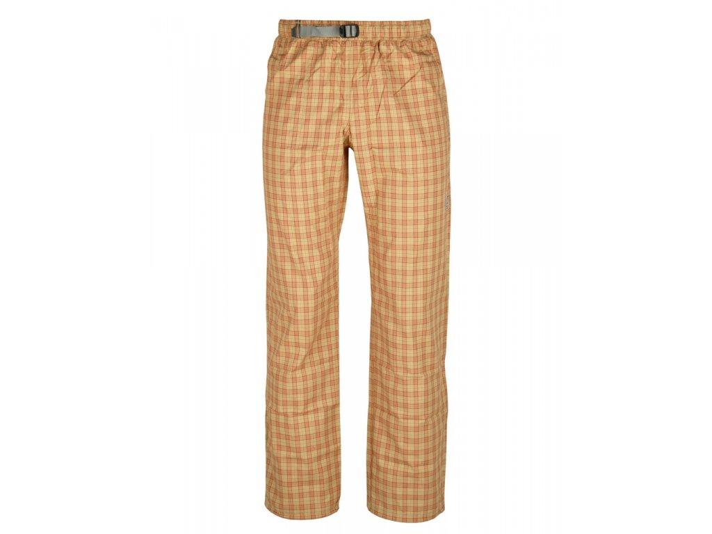 Kalhoty Rejoice - Foxtail (červeno-béžové) (Velikost XS)
