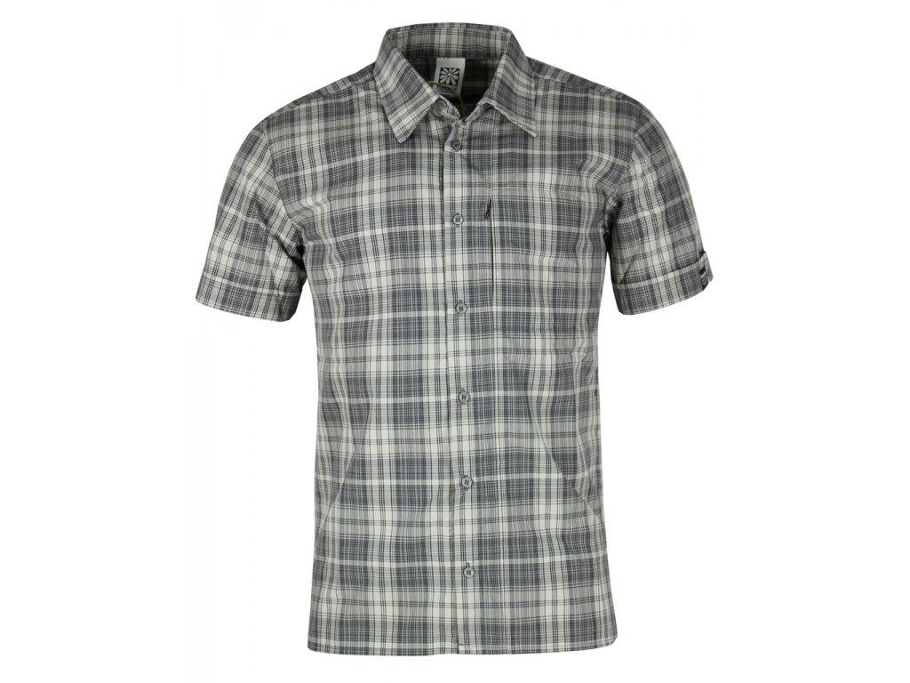 Pánská košile Rejoice - Baywood (šedá) (Velikost XXL)