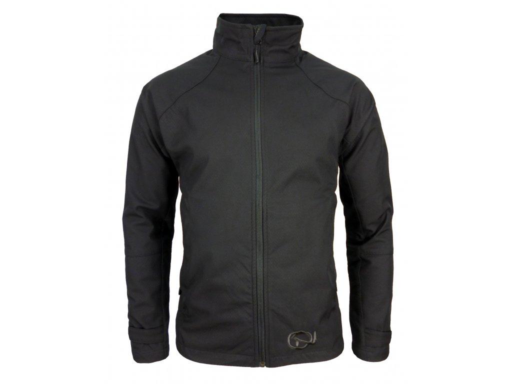 Pánská softshellová bunda Crackonosh - Sade Black (Velikost XXL)